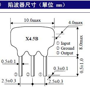 64mg-陶瓷晶振|陶瓷谐振器|陶瓷晶体|贴片