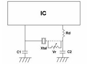 llc c元件的串联谐振电路,在下面的基本频率,使电路看起来感应基频.