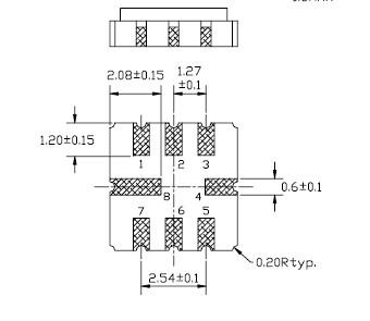声表面谐振器与电子式防盗器的应用描述