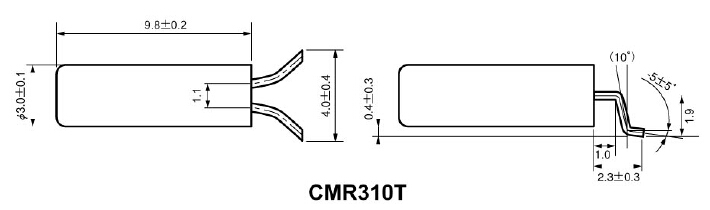 日本西铁城晶振,CMR310T音叉晶体,蓝牙耳机专用晶振,外观尺寸具有薄型表面贴片型石英晶体谐振器,特别适用于有小型化要求的市场领域,比如智能手机,无线蓝牙,平板电脑等电子数码产品.晶振本身超小型,薄型,重量轻,晶体具有优良的耐环境特性,如耐热性,耐冲击性,在办公自动化,家电相关电器领域及Bluetooth,Wireless LAN等短距离无线通信领域可发挥优良的电气特性,满足无铅焊接的回流温度曲线要求.