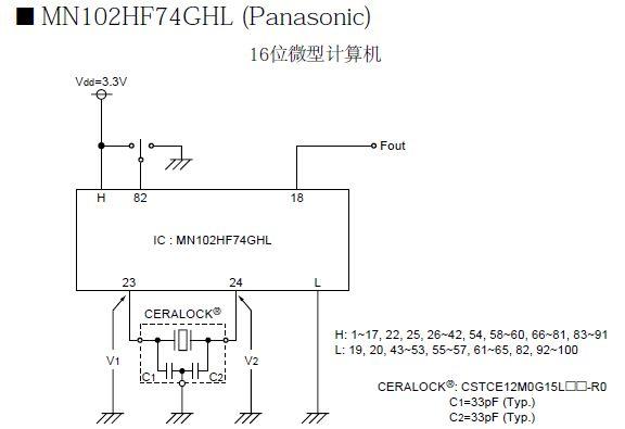 村田晶振,CSTCE_V13L,村田陶瓷谐振器,晶振尺寸小,重量轻,并具有卓越的抗振性能.与CR,LC电路不同,陶瓷振荡子利用的是机械谐振而不是像压电石英晶体一样电谐振的方式起振,利用它们可实现免调整振荡器电路的设计,该系列价格适中且货源稳定,多数常规频点都已大批量生产.贴片的体积有以下几种:7.